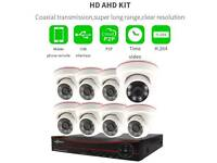 CCTV 8ch kits plus 2TB HDD