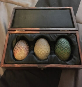 Game of Thrones Dragon Eggs (with Box)