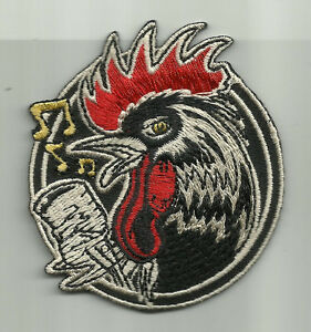 LICENSED-KRUSE-ROCKABILLY-ROOSTER-DRAG-RACE-HOT-ROD-PSYCHOBILLY-PUNK-BIKER-PATCH