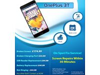 Huawei Nexus 6p,P9 Lite,P8 Lite,OnePlus One,3,OnePlus 3T Broken LCD Screen Digitiser Repairs London