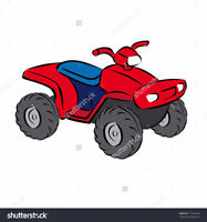 Non-running ATV's and sleds