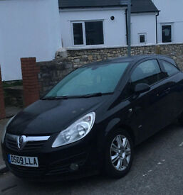 '09 Vauxhall Corsa for sale £1200