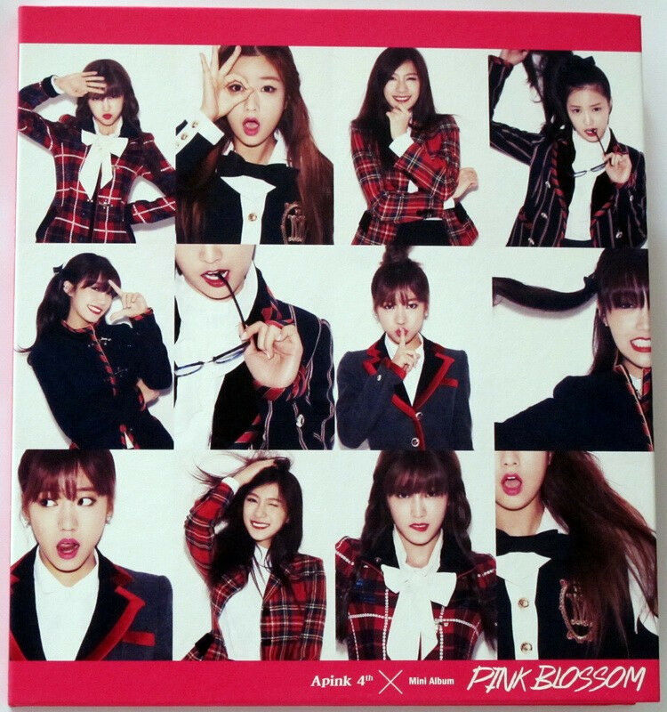 Apink autographed mini 4th album  pink blossom cd+photobook new korean