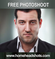 Get a free photoshoot / Headshots / Portraits