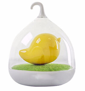 Bird Cage LED Night Light - Blue, Pink or Yellow