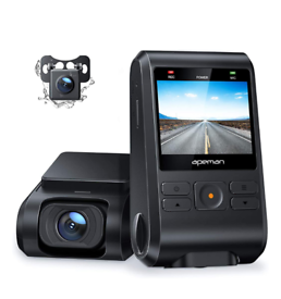 Dash Cams, Front and Rear,