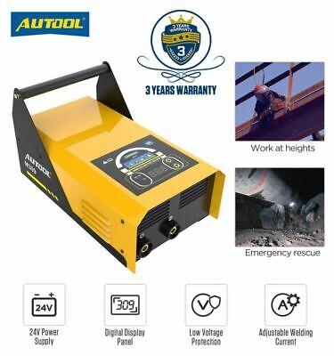 Portable Digital Welding Machine Igbt Dc Mma Arc Welder Inverter 100a Emergency
