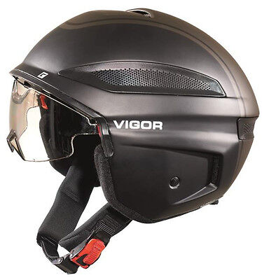 Cratoni E-Bike CASCO VIGOR NERO OPACO MOTOCICLISTA Fred R 2205 scooter