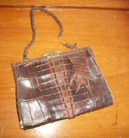 Antique Alligator Purse-Needs Repair