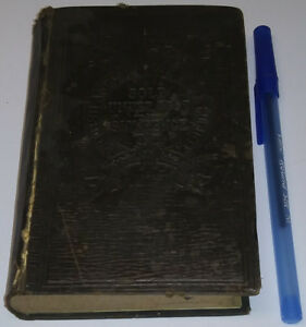 1879 Antique Holy Bible JESUS God Book