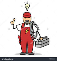 Licence Electrician Call or text at 647-300-5575