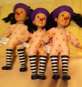 Big Comfy Couch Loonette the Clown dolls
