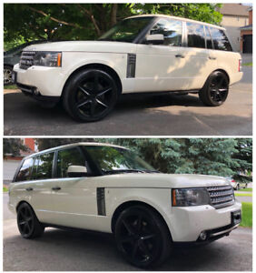 "Immaculate Super Charged Range Rover, all options + 22"" wheels!"