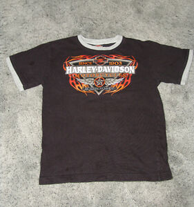 Harley Davison T- Shirt. Youth Size Small 8-10