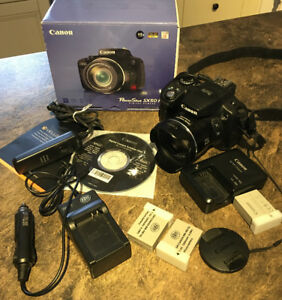 Canon SX50 HS 12MP Digital Camera with 2.8-Inch LCD (24-1200mm)