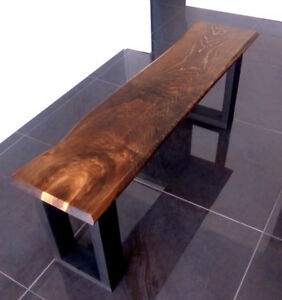 Live Edge Bench - Various Sizes - Brand New