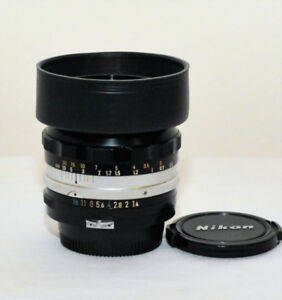 Nikon 50mm F1.4 non- ai manual focus lens