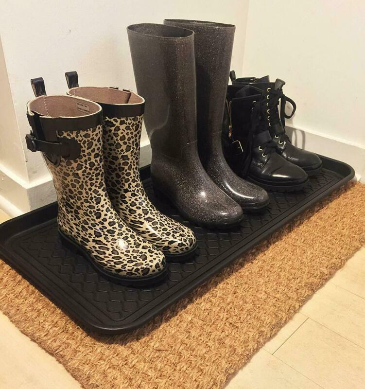 Utility Floor Mat Under Sink Tray For Shoe Boot Storage Pet