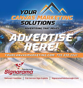 Mobile Advertisement Opportunity. Your Canvas Marketing