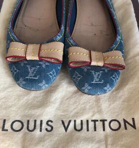 LOUIS VUITTON Designer shoes blue