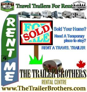 Temporary Home to Stay? Travel Trailer For RENT