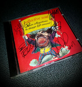 Collective Soul Signed CD