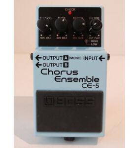 Boss chorus pedal ce-5