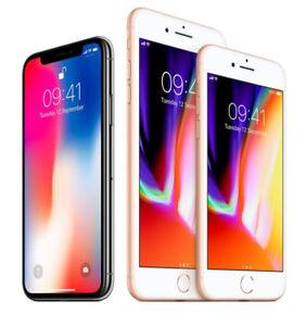 Brand New & Unlocked iPhone-X/8+/8/7+/7/6S+/6S/6/SE on Sale