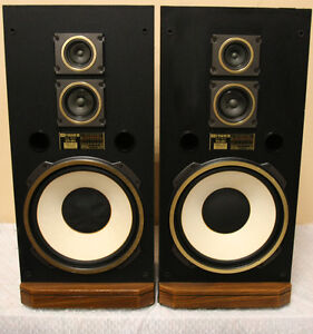 RARE FISHER STV-894 HUGE TOWER SPEAKERS SEE VIDEO