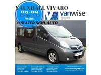 2013 Vauxhall Vivaro 2900 COMBI CDTI TECSHIFT SWB Diesel grey Semi Auto