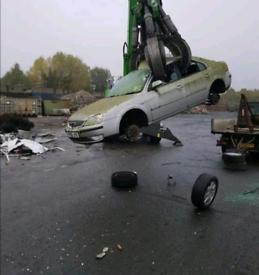 Scrap cars Van's 4x4 pickups wanted 765