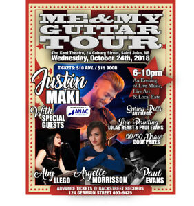 Me & My Guitar Tour with Ontario's Justin Maki & Special Guests