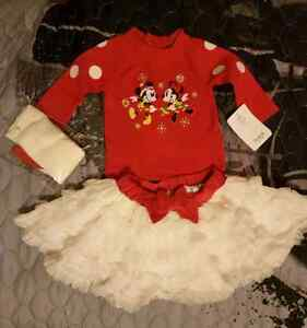 3-6 month old new Minnie mouse dress.
