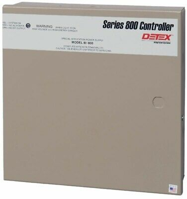 Detex Series 800 Model 81-800 Special Application Power Supply Latch Retraction