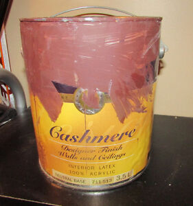 CASHMERE Brown Paint - About 1/2 CAN Gatineau Ottawa / Gatineau Area image 1