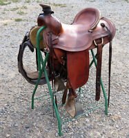 MARK DENNY CARIBOO SADDLERY  RANCH SADDLE price reduced