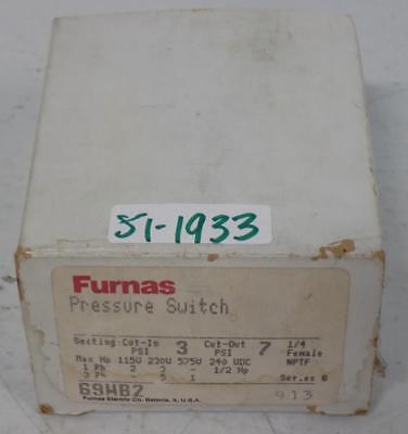 Furnas Pressure Switch 69hb2