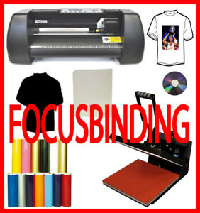 "13""Metal Vinyl Cutter Plotter,15x15 Heat Press,PU Vinyl Transfer"