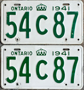 YOM Licence Plates For Your Old Auto - Ministry Guaranteed! Kitchener / Waterloo Kitchener Area image 4