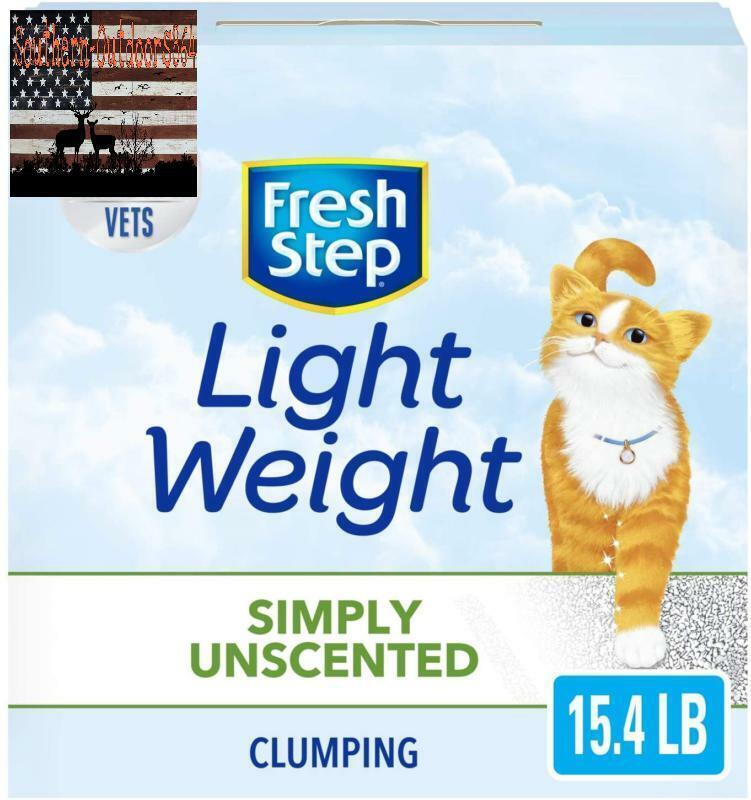 Fresh Step Simply Unscented Lightweight Litter, Clumping Cat