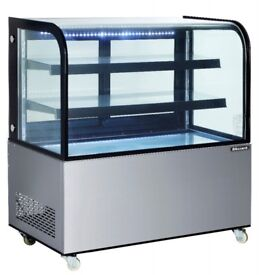 Blizzard DC270 Mobile Food 0.9m Display Serve Over Counter - GRADED