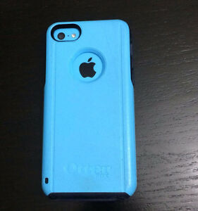 Blue iPhone 5c 16GB with matching Otter case. Perfect condition