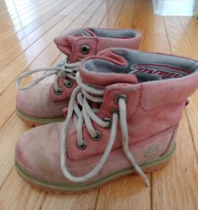 Girls Timberland Hikers - Size 9.5