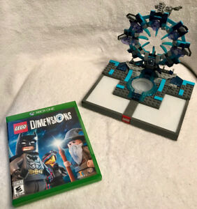 Lego Dimensions Xbox One Bundle + some level, team & fun packs