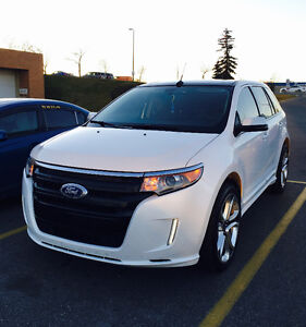 2012 Ford Edge Sport AWD SUV, Crossover -warranty on tires rims