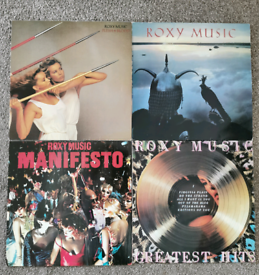 Roxy Music vinyl records £6 each or £20 the lot