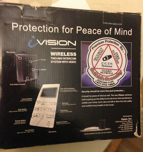 HOME SECURITY- wireless 2-way intercom system with video