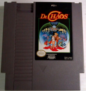 NES Games - Dr Chaos and Tetris
