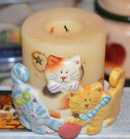 Cat Candle Holder