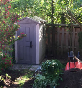 4'x6' garden shed for sale